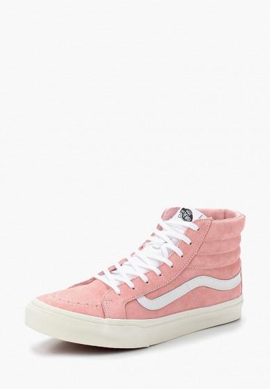 Купить Кеды Vans - цвет: розовый, Китай, VA984AUVZS50