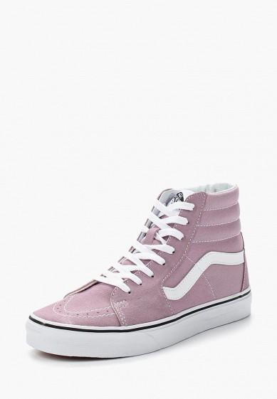 Купить Кеды Vans - цвет: фиолетовый, Камбоджа, VA984AUVZT03