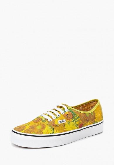 Купить Кеды Vans - цвет: желтый, Вьетнам, VA984AWCAHN5