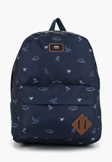 Рюкзак Vans - цвет: синий, Вьетнам, VA984BMBHHA2  - купить со скидкой