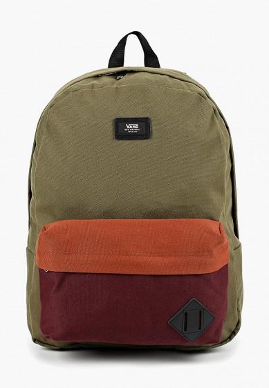 Купить Рюкзак Vans - цвет: зеленый, Вьетнам, VA984BMCAHT1