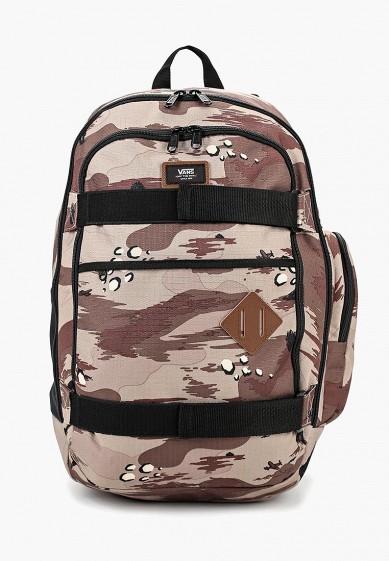 Купить Рюкзак Vans - цвет: бежевый, Вьетнам, VA984BMCAHT9