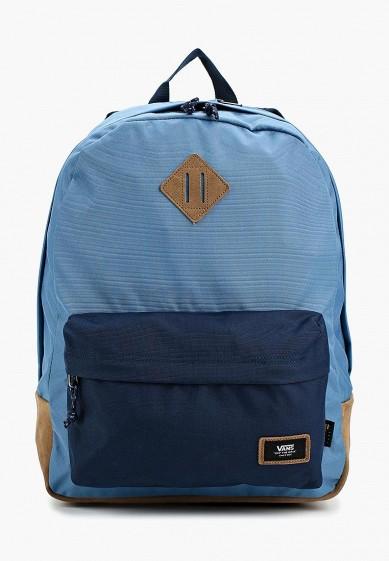 Купить Рюкзак Vans - цвет: синий, Швейцария, VA984BUAJWP6