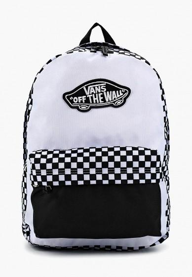 Рюкзак Vans - цвет: белый, Камбоджа, VA984BWAJWS1  - купить со скидкой