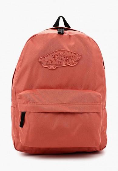 Купить Рюкзак Vans - цвет: коралловый, Камбоджа, VA984BWAJWS5