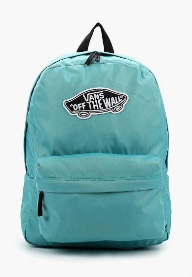 Купить Рюкзак Vans - цвет: бирюзовый, Вьетнам, VA984BWBHHA6