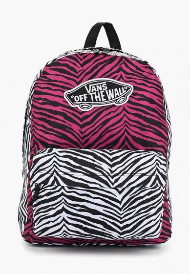 Купить Рюкзак Vans - цвет: розовый, Вьетнам, VA984BWBHHA7