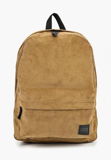 Купить Рюкзак Vans - цвет: коричневый, Вьетнам, VA984BWCAHY3