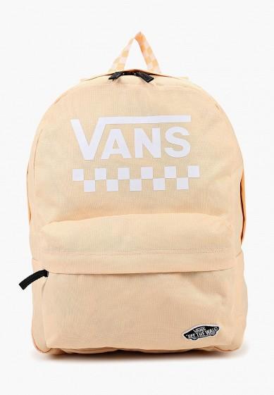 Купить Рюкзак Vans - цвет: бежевый, Вьетнам, VA984BWCAHY5