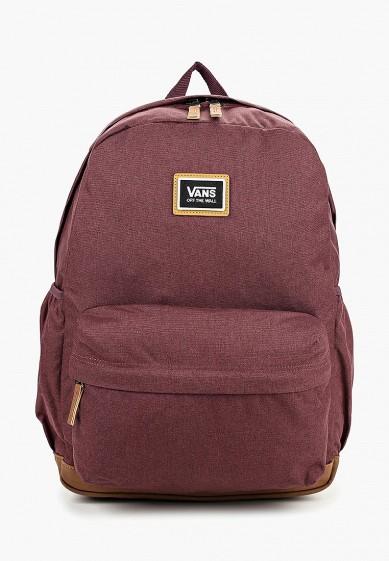 Купить Рюкзак Vans - цвет: бордовый, Камбоджа, VA984BWCAHY9