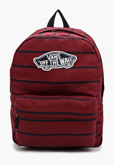 Купить Рюкзак Vans - цвет: бордовый, Индонезия, VA984BWVZR57
