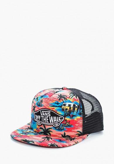Купить Бейсболка Vans - цвет: коралловый, Китай, VA984CMBMWU4