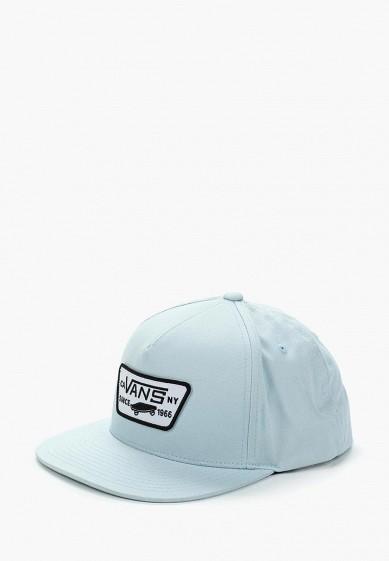 Купить Бейсболка Vans - цвет: голубой, Швейцария, VA984CUAJWQ8