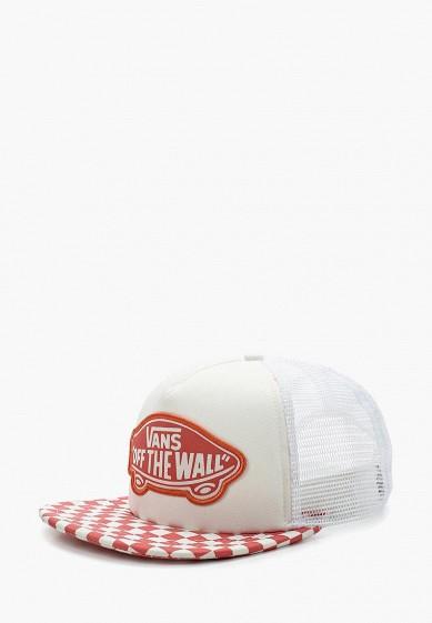 Купить Бейсболка Vans - цвет: белый, Китай, VA984CWAJWW0