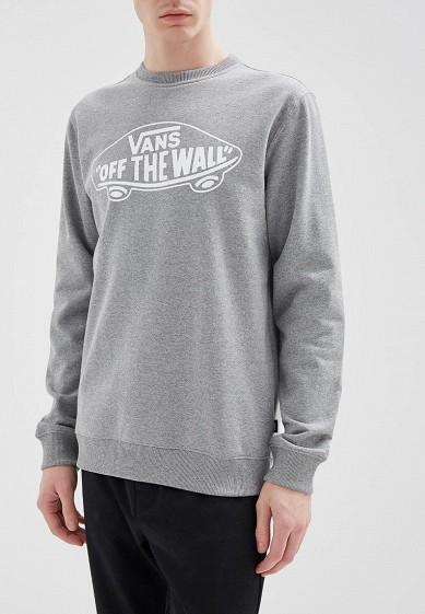 Купить Свитшот Vans - цвет: серый, Швейцария, VA984EMAJXJ3