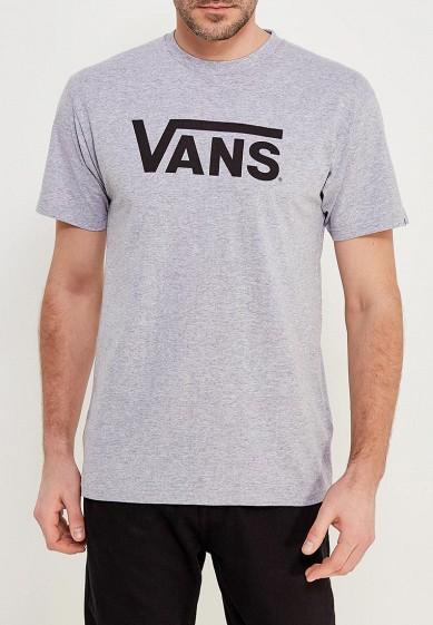Купить Футболка Vans - цвет: серый, Турция, VA984EMAJXK2