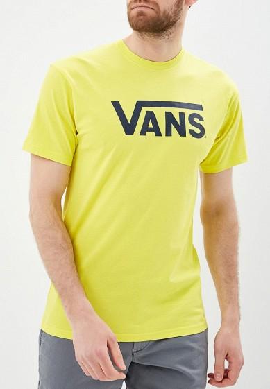 Купить Футболка Vans - цвет: желтый, Грузия, VA984EMBMOJ4