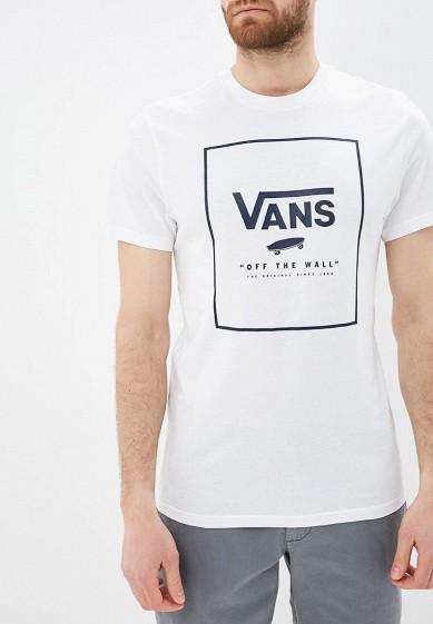 Купить Футболка Vans - цвет: белый, Грузия, VA984EMBMOK1