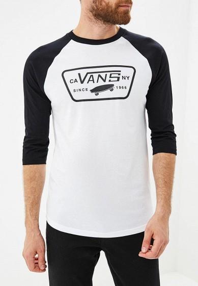 Купить Лонгслив Vans - цвет: белый, Грузия, VA984EMCAKB6