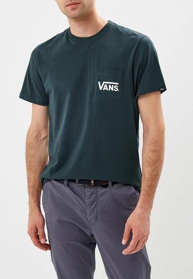 Купить Футболка Vans - цвет: зеленый, Грузия, VA984EMCAKF0