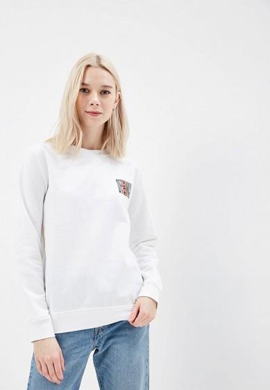 Купить Свитшот Vans - цвет: белый, Швейцария, VA984EWAJXP0