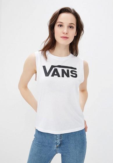 Купить Майка Vans - цвет: белый, Швейцария, VA984EWAJXR3