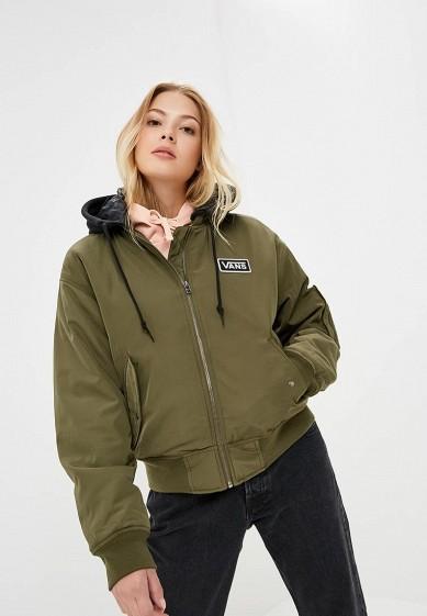 Купить Куртка утепленная Vans - цвет: хаки, Китай, VA984EWCAKS5