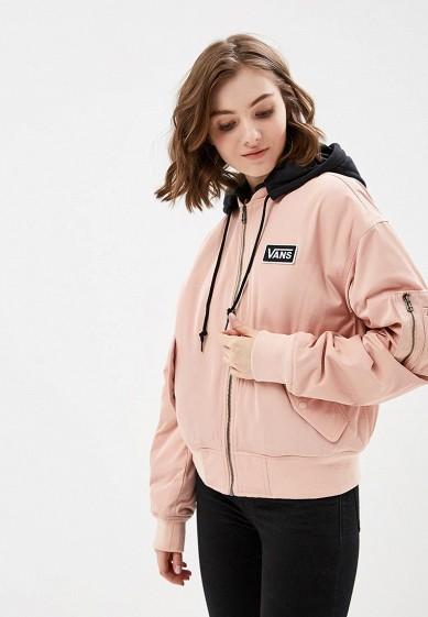 Купить Куртка утепленная Vans - цвет: розовый, Китай, VA984EWCAKS6