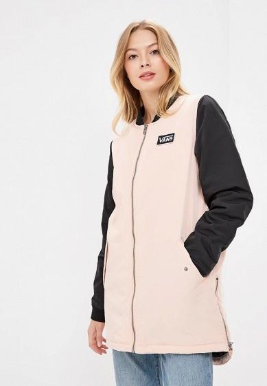 Купить Куртка утепленная Vans - цвет: розовый, Китай, VA984EWCAKS9