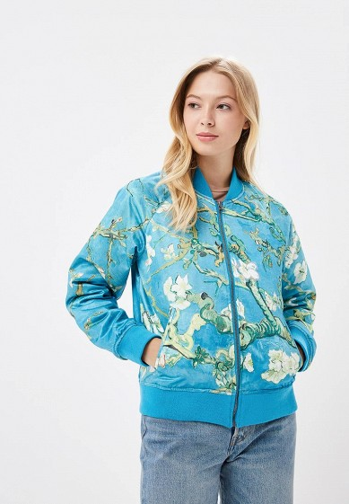 Купить Куртка утепленная Vans - цвет: голубой, Китай, VA984EWCAKT2