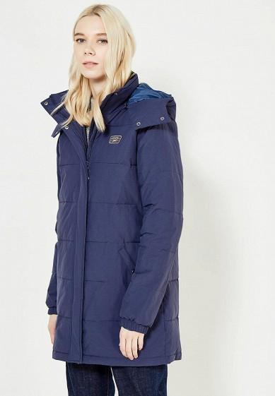 Куртка утепленная Vans - цвет: синий, Китай, VA984EWVZS30  - купить со скидкой