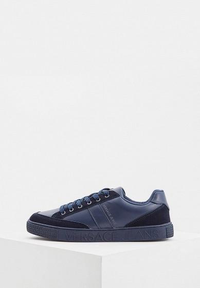 Купить Кеды Versace Jeans - цвет: синий, Китай, VE006AMBUZR1