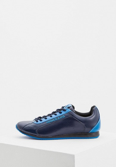 Купить Кроссовки Versace Jeans - цвет: синий, Китай, VE006AMZIB60