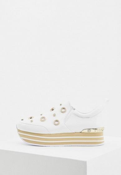 Купить Кроссовки Versace Jeans - цвет: белый, Китай, VE006AWAHKI5