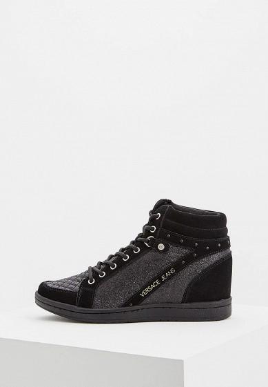 Купить Кеды на танкетке Versace Jeans - цвет: черный, Китай, VE006AWBVAK9
