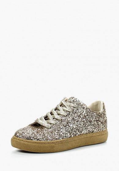 Купить Кеды WS Shoes - цвет: золотой, Китай, WS002AWAZAA1