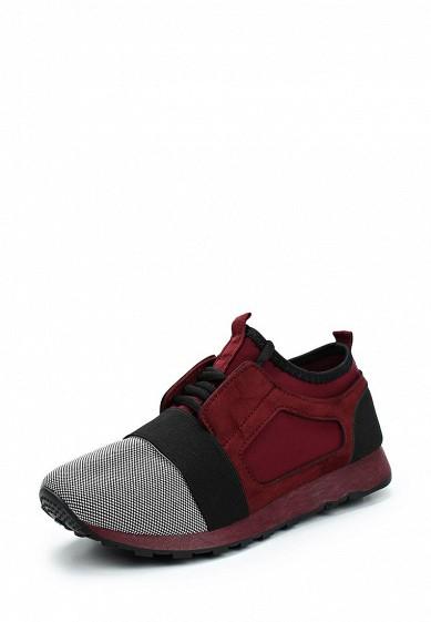 Купить Кроссовки WS Shoes - цвет: бордовый, Китай, WS002AWZQQ69