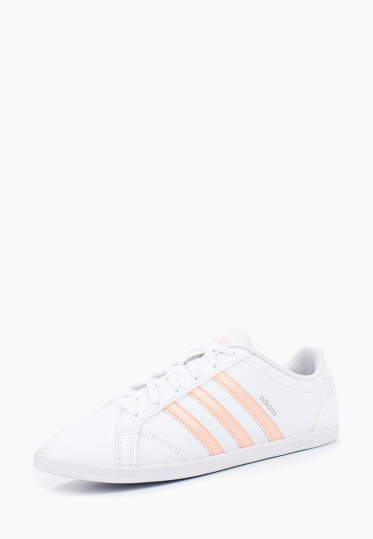 Кеды adidas - цвет: белый, Вьетнам, AD002AWCDKC1  - купить со скидкой