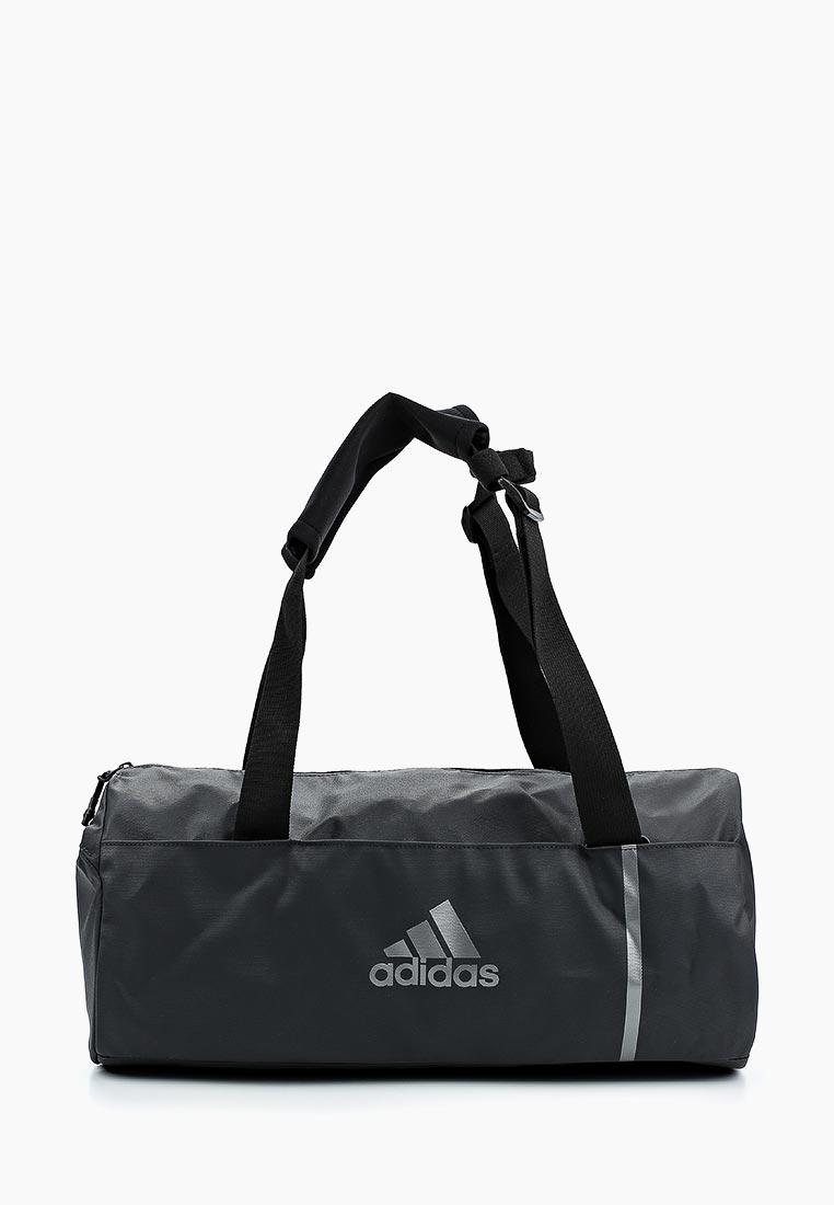 Купить Сумка спортивная adidas - цвет: черный, Вьетнам, AD002BUALSU9
