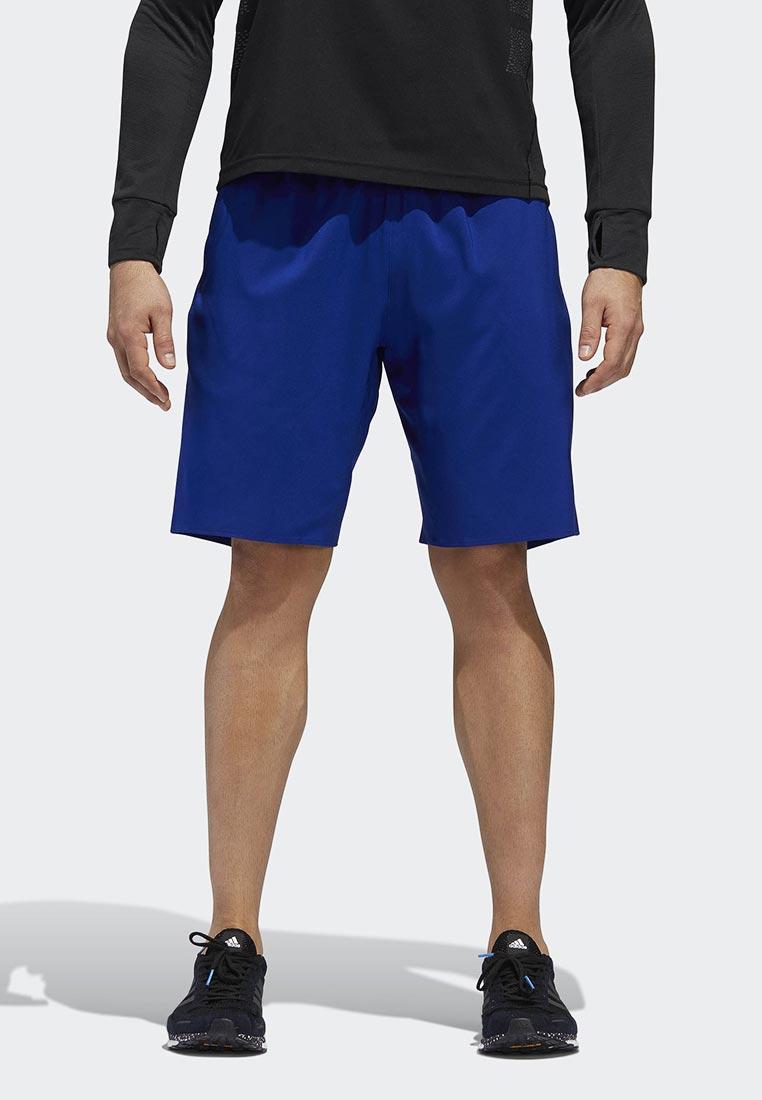 Купить Шорты спортивные adidas - цвет: синий, Индонезия, AD002EMCDHA1