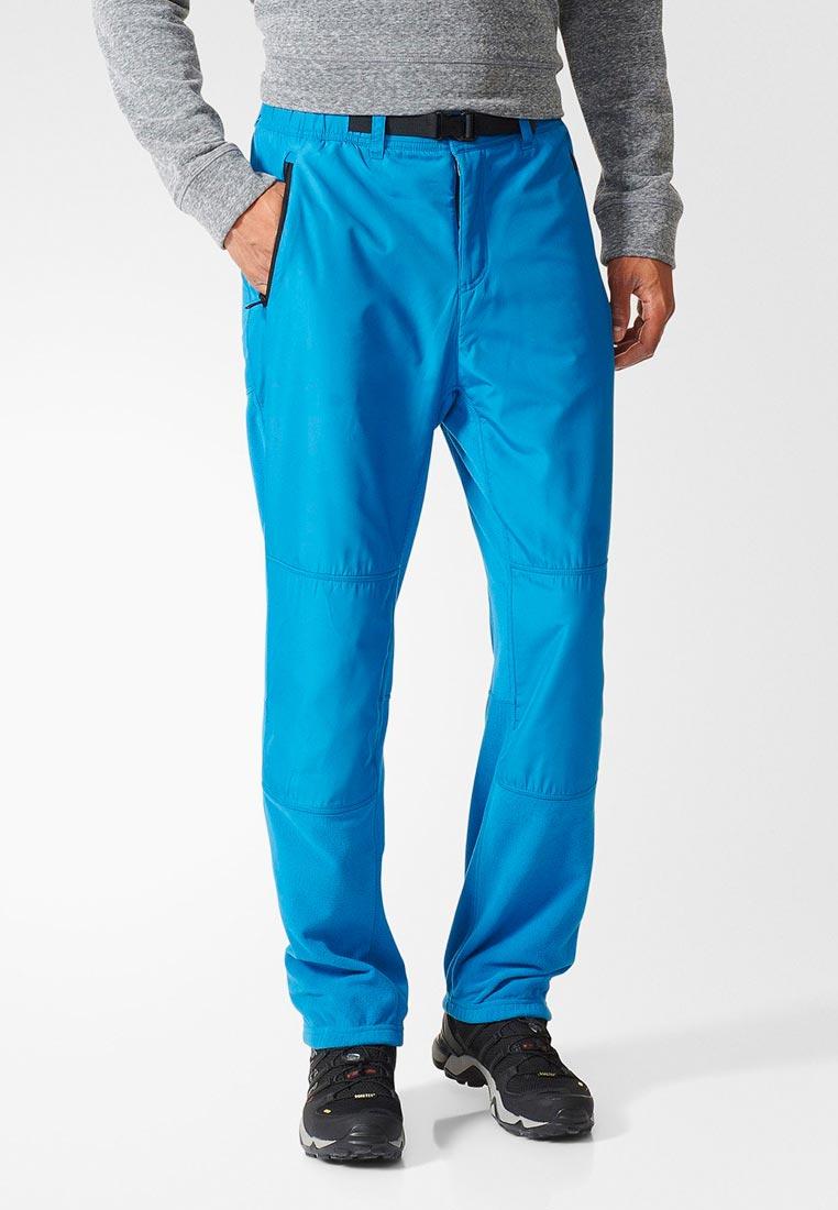 Купить Брюки утепленные adidas - цвет: голубой, Камбоджа, AD002EMDKOD0