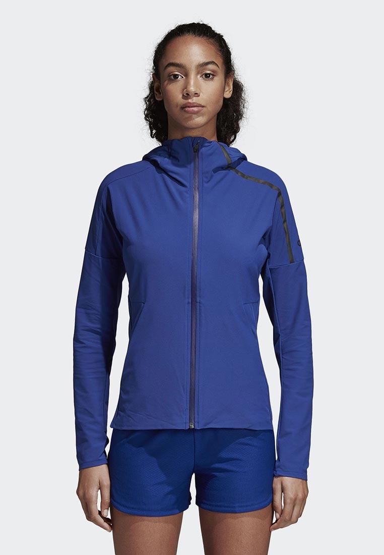 Купить Куртка adidas - цвет: синий, Вьетнам, AD002EWCDHS1