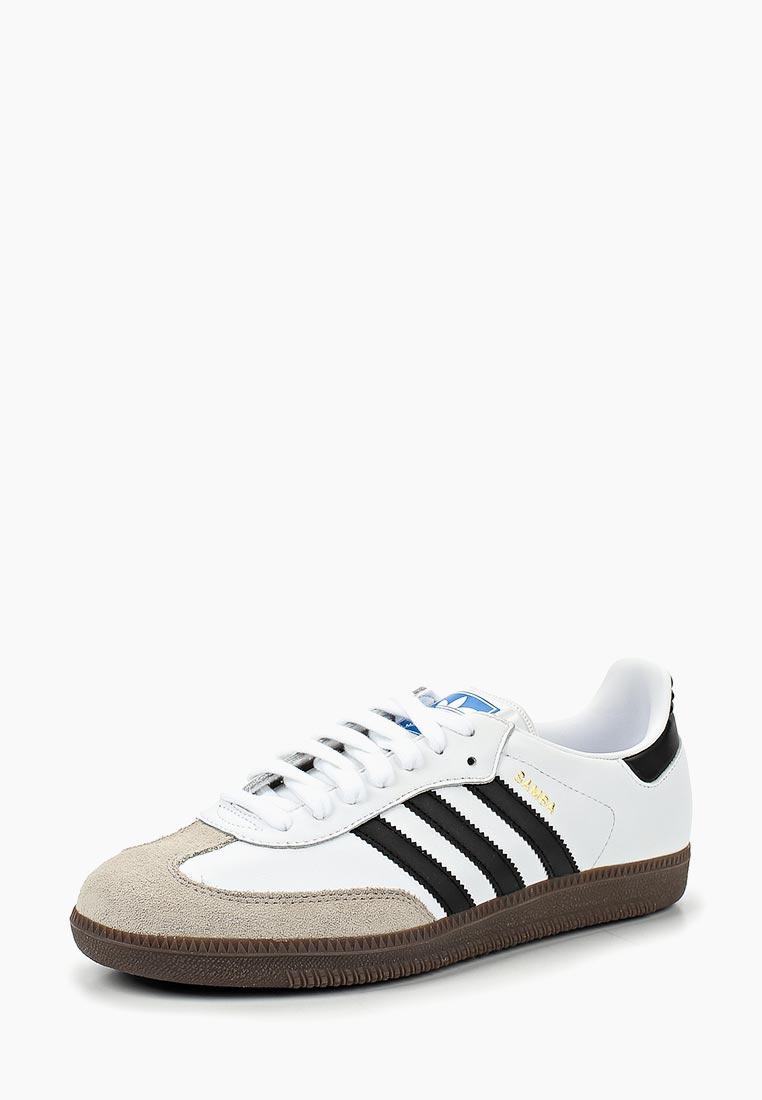Купить Кеды adidas Originals - цвет: белый, Вьетнам, AD093AMDKOA9