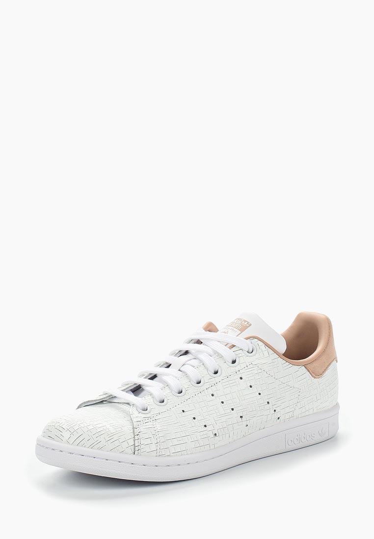 Кеды adidas Originals - цвет: белый, Индия, AD093AWALQD5  - купить со скидкой