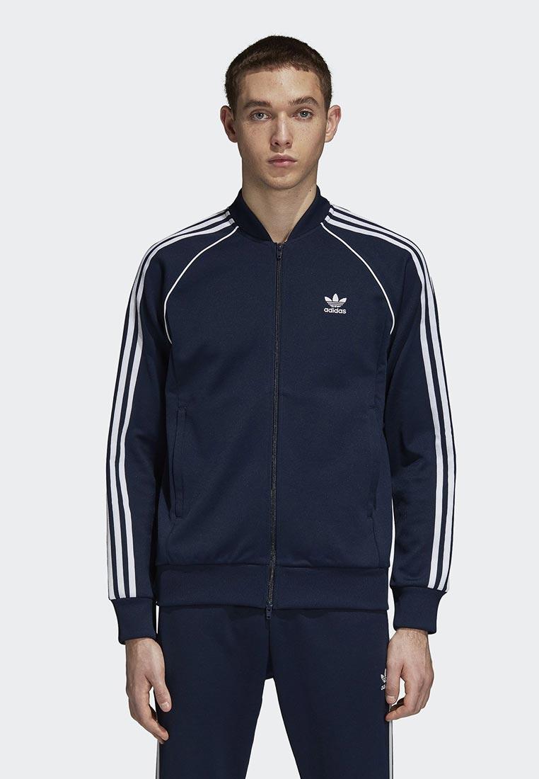 Купить Олимпийка adidas Originals - цвет: синий, Пакистан, AD093EMCCZA8