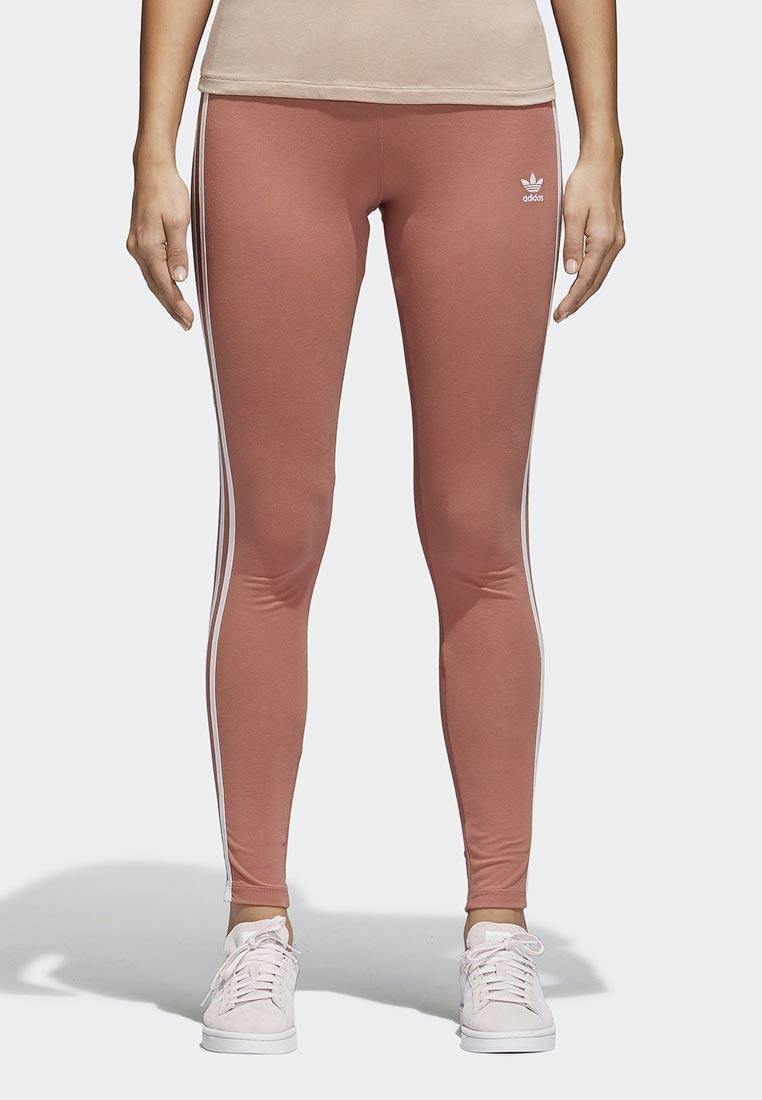 Купить Леггинсы adidas Originals - цвет: коралловый, Пакистан, AD093EWALPD7