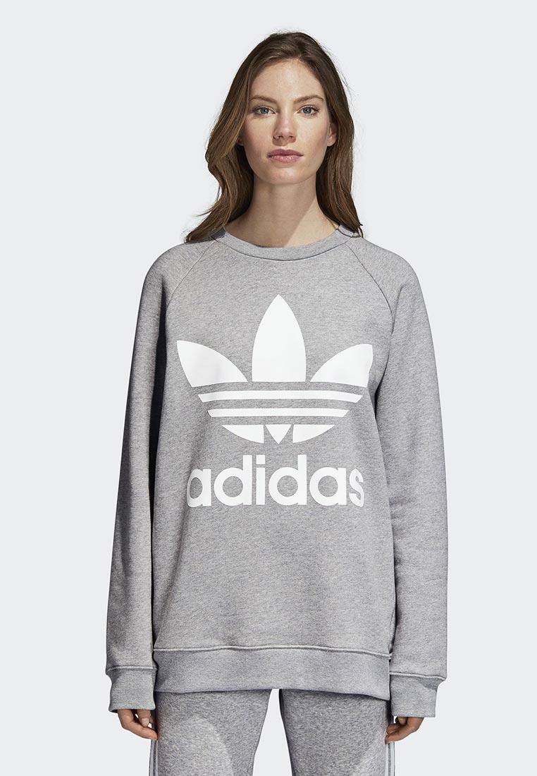 Купить Свитшот adidas Originals - цвет: серый, Камбоджа, AD093EWCCZF6