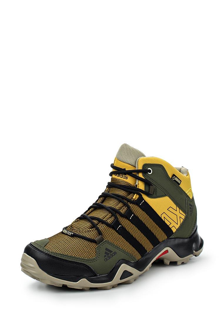 Купить Ботинки трекинговые adidas - цвет: хаки, Китай, AD094AMFSV95