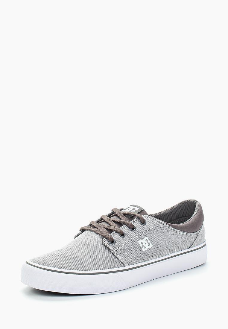 Купить Кеды DC Shoes - цвет: серый, Вьетнам, DC329AMAKBK9
