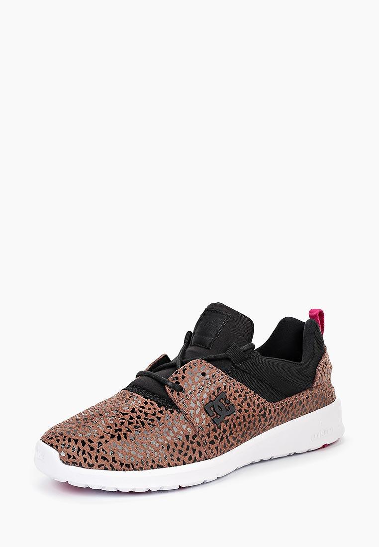 Купить Кроссовки DC Shoes - цвет: коричневый, Вьетнам, DC329AWCFEY1